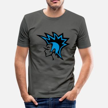 Craft Punk - Icon Blue - Men's Slim Fit T-Shirt