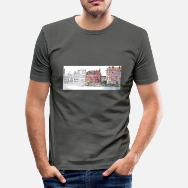 Lyon LYON - Männer Slim Fit T-Shirt