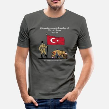 1915 Kut al Amara - Herre Slim Fit T-Shirt