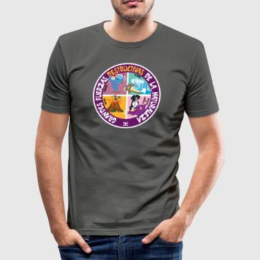 Destructive Nature Forces (Sp) - Camiseta ajustada hombre