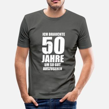 50 Years Took 50 Years To Look So Good - 50s - Men's Slim Fit T-Shirt