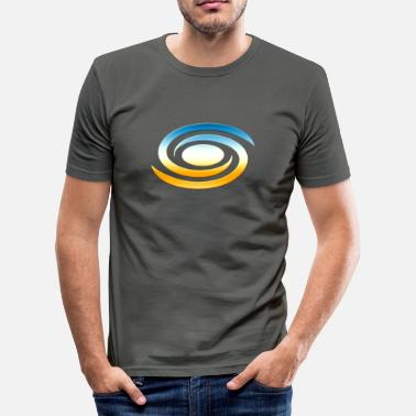 Spirituality Spiral galaxy, universe, cosmos, milky way,  - Men's Slim Fit T-Shirt