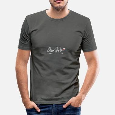 Italy Sexy Italy design: Ciao Bella - Men's Slim Fit T-Shirt