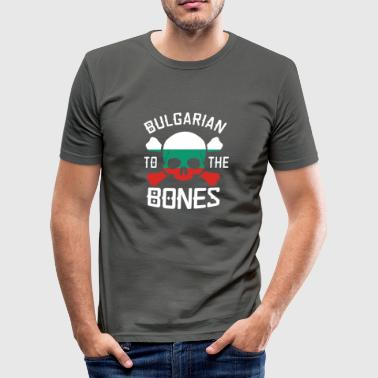 Bulgarian to the bones - Men's Slim Fit T-Shirt