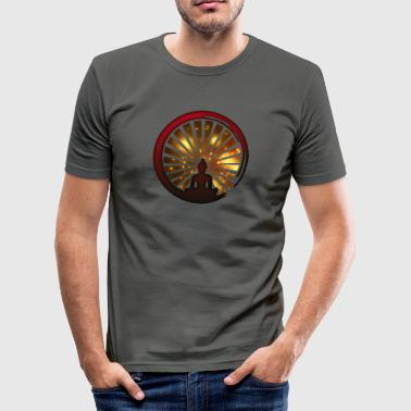 Enso, Zen, meditation, Buddha, Buddhisme, Japan - Herre Slim Fit T-Shirt