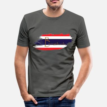Bangkok Bangkok - Slim Fit T-skjorte for menn