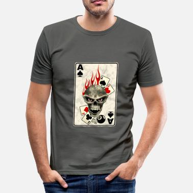 Cards poker card - T-shirt moulant Homme