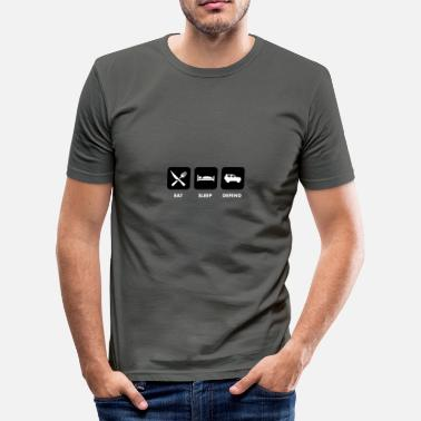 Defend Eat, Sleep & Defend - slim fit T-shirt