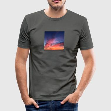 Snazzy SKYline - Men's Slim Fit T-Shirt