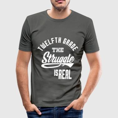 Class Struggle Twelfth Grade The Struggle - Men's Slim Fit T-Shirt