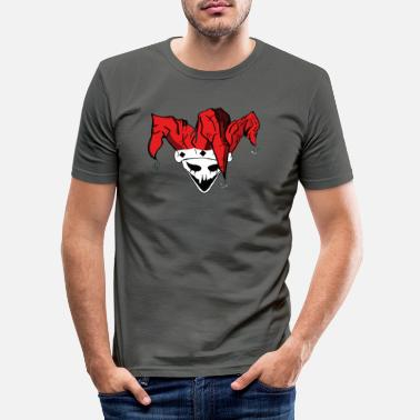 Evil jester - Men's Slim Fit T-Shirt