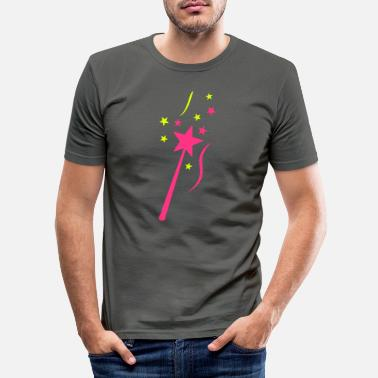 Wand wand wand Zauberstab varita - Men's Slim Fit T-Shirt