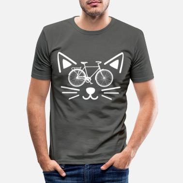 Bike cat bike - Maglietta slim fit uomo