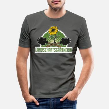Garden Gardener garden gardener allotment gift - Men's Slim Fit T-Shirt