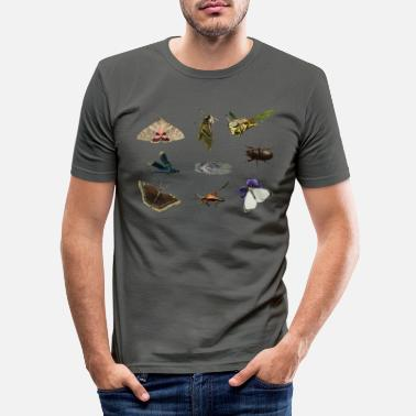 Insect insects - Men's Slim Fit T-Shirt