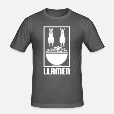 Llama T-Shirt Mr Ramen Lover Gift Pap International Llamen Unisex T-Shirt