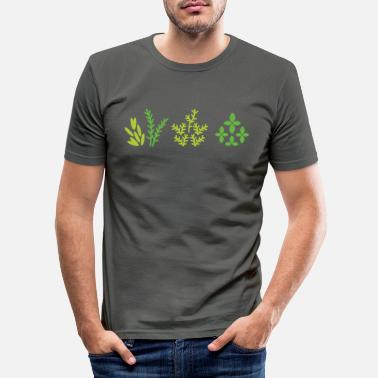 Plant Grounds plants - Men's Slim Fit T-Shirt
