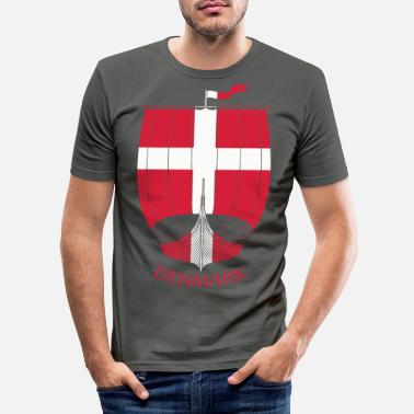 Viking Denmark Viking Ship - Slim fit T-shirt mænd