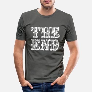 End the end | The end - Men's Slim Fit T-Shirt