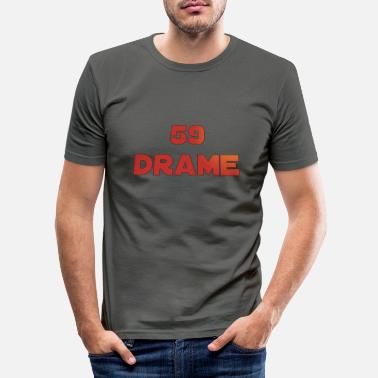 Lille 59 drame - T-shirt moulant Homme