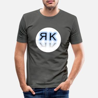 Initial initials - Men's Slim Fit T-Shirt