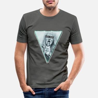 Old School Le lécher - T-shirt moulant Homme