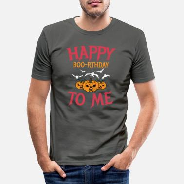 B Day Halloween B Day Vintage - Men's Slim Fit T-Shirt