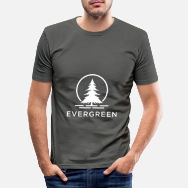 Evergreen Evergreen W - Slim fit T-shirt mænd