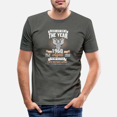 Legends Were Born in 1960 - T-shirt moulant Homme