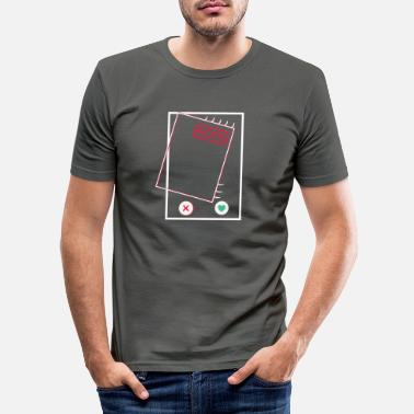 Tinder tinder swipe nope dating app no Thanks - Men's Slim Fit T-Shirt