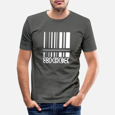 New World Order Conspiracy Wordart - Conspiracy Theory Design - Slim fit T-skjorte for menn