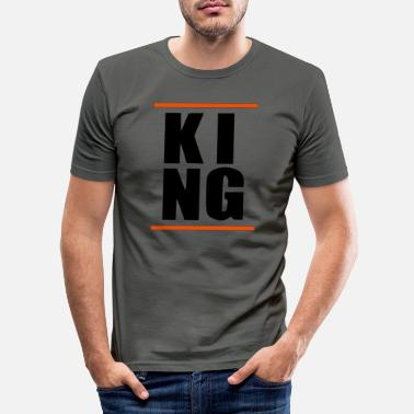 King KING King HipHop Statement Gift Boy Boy - Men's Slim Fit T-Shirt