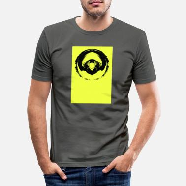 Twist Headphone Twist - Men's Slim Fit T-Shirt