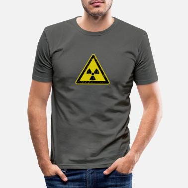 Radioactive radioactivity - Men's Slim Fit T-Shirt