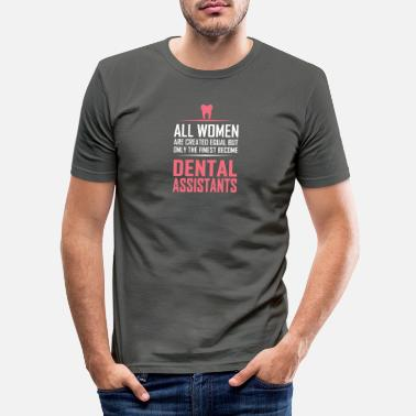 Zahn dental assistants - Männer Slim Fit T-Shirt