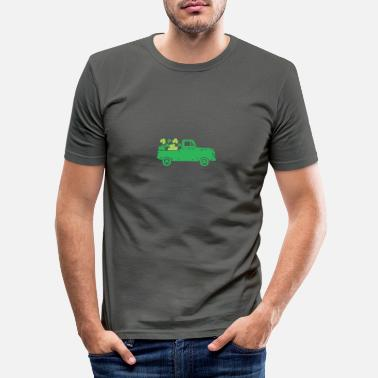 Irland Rolig irsk citat St Patricks Day Design - T-shirt slim fit herr