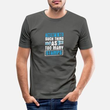 Stamp Perfect Stamps Design Quote No Such Thing - Men's Slim Fit T-Shirt