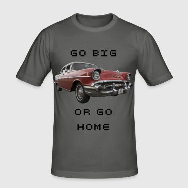 Chevy Bel Air Front - Männer Slim Fit T-Shirt