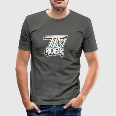Timrider - Tee shirt près du corps Homme