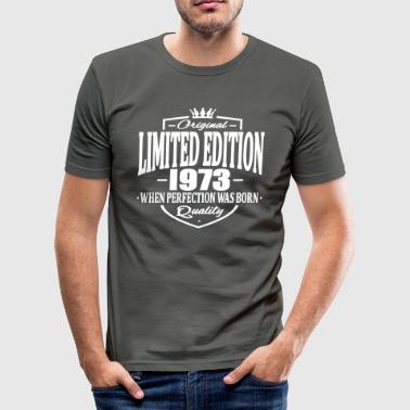 Limited edition 1973 - Männer Slim Fit T-Shirt