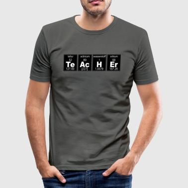 TeAcHEr - Männer Slim Fit T-Shirt