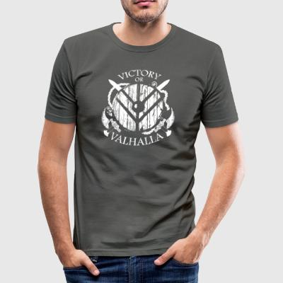 Viking Valhalla eller - Herre Slim Fit T-Shirt