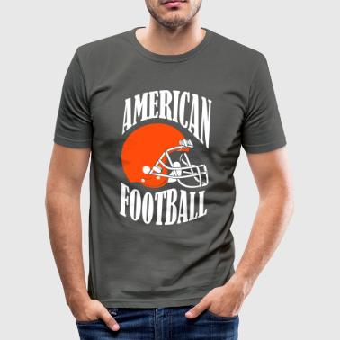 AMERICAN FOOTBALL - slim fit T-shirt
