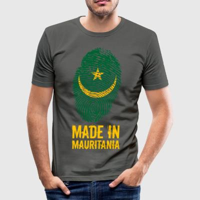 Made In Mauritania / Mauritania / موريتانيا - Men's Slim Fit T-Shirt