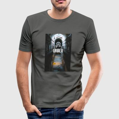 Urbex hallway - Men's Slim Fit T-Shirt