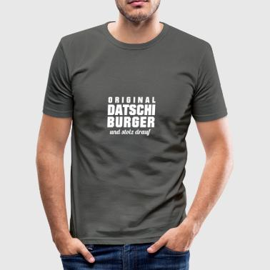 Original Datschiburger (Augsburg) - Men's Slim Fit T-Shirt