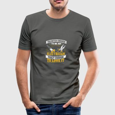 TALENTED Elektricien - slim fit T-shirt