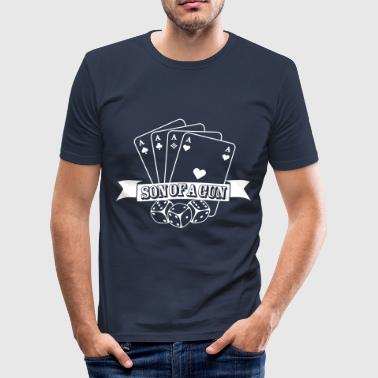 Son of a gun - Männer Slim Fit T-Shirt