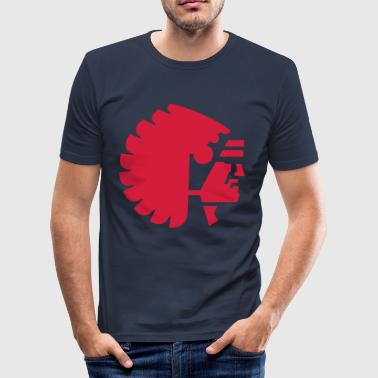 back to the roots - Männer Slim Fit T-Shirt