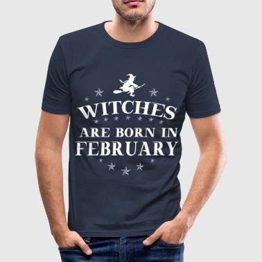 Witches February - Männer Slim Fit T-Shirt